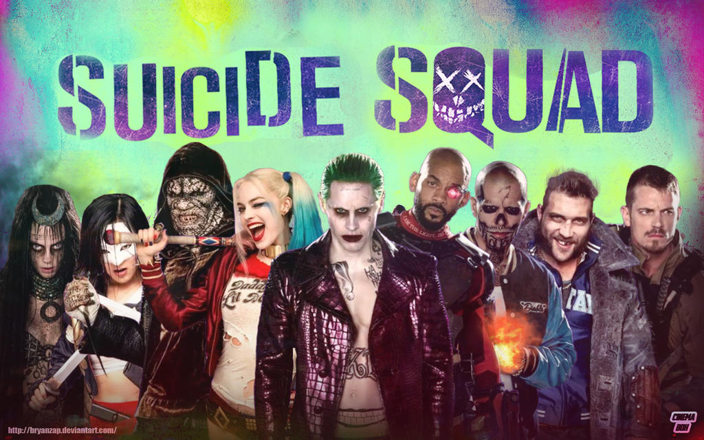suicide squad movie wallpaper  Suicide Squad Movie Wallpaper by Bryanzap on DeviantArt