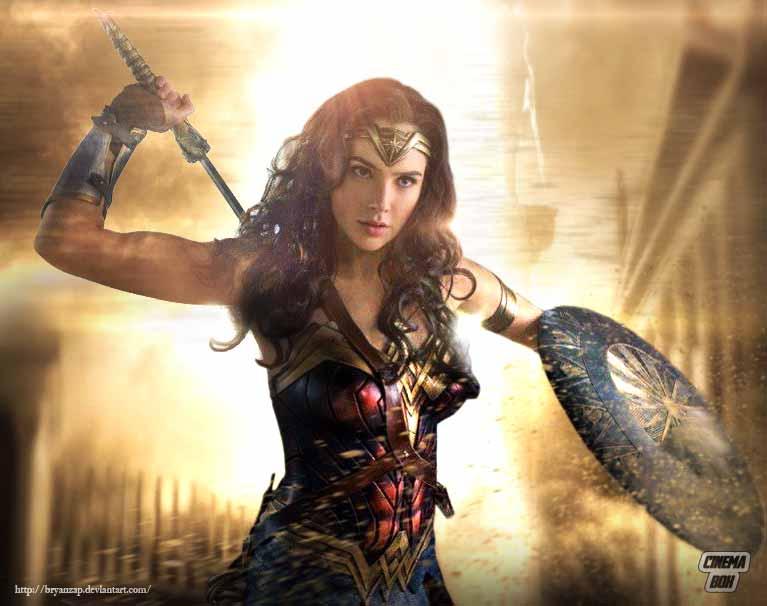 Wonder Woman Gal Gadot Wallpapers: Wonder Woman Gal Gadot By Bryanzap On DeviantArt