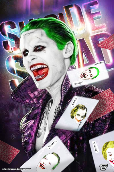 Halloween Joker Card.Suicide Squad Joker Cards By Bryanzap On Deviantart