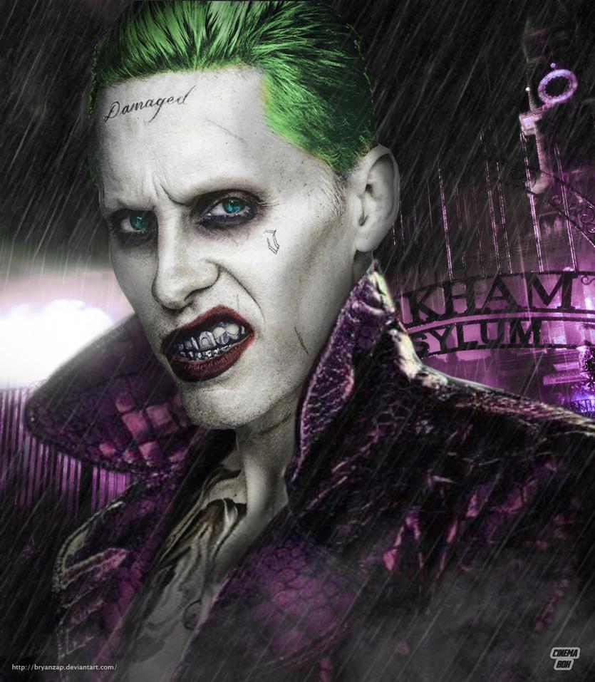 Jared Leto Joker Arkham By Bryanzap On DeviantArt