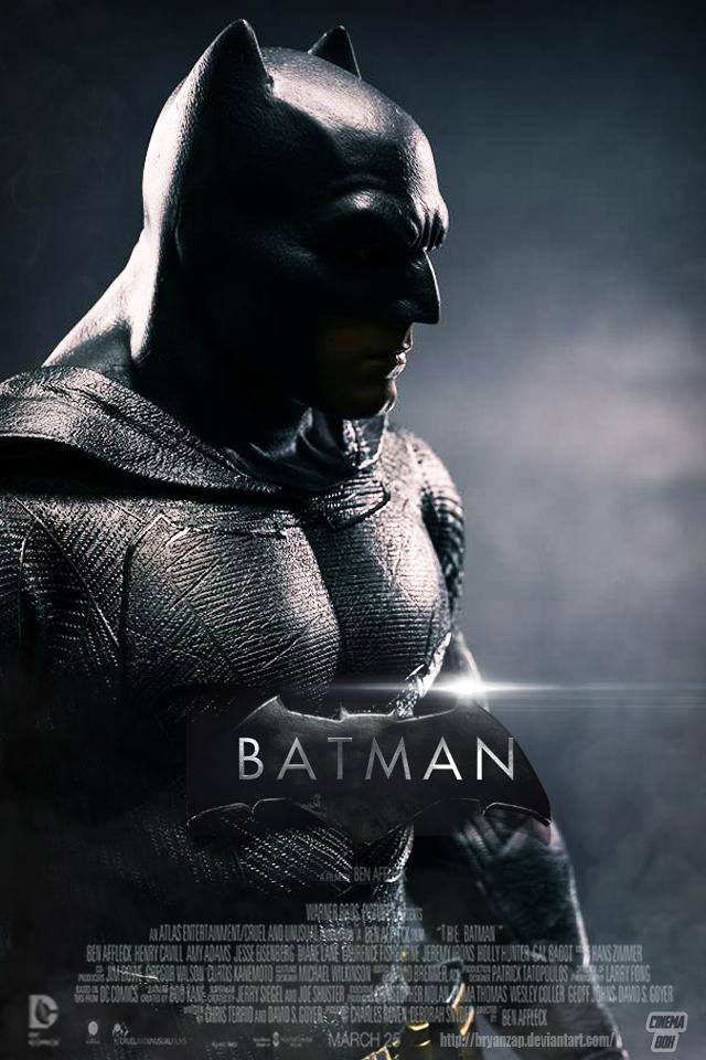 Ben affleck 39 s batman teaser poster by bryanzap on deviantart - Ben affleck batman wallpaper ...