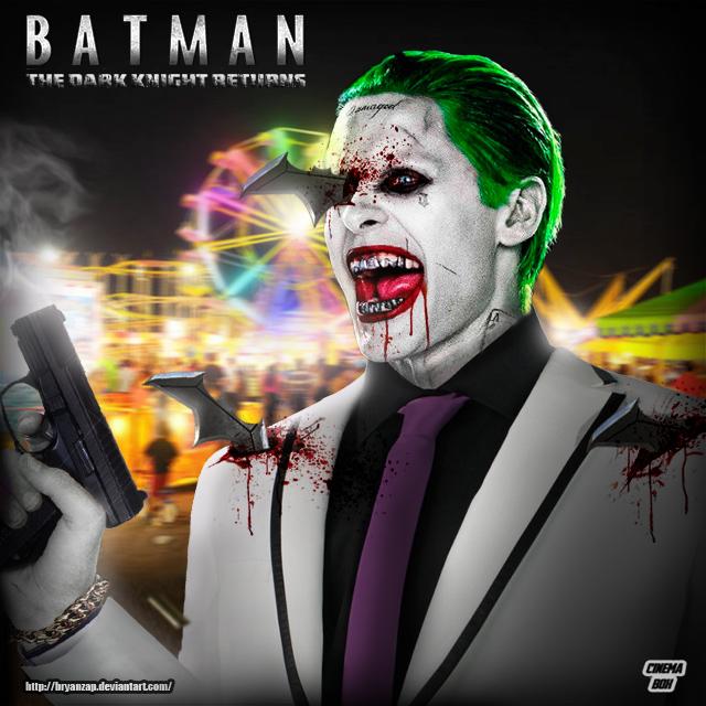 The Dark Knight Returns Jared Leto Joker by Bryanzap on ...