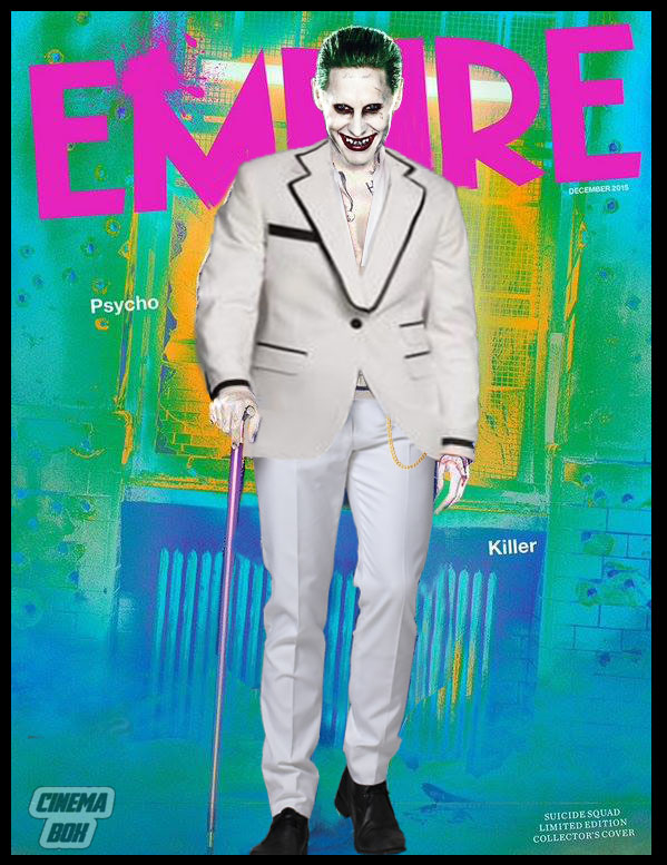 Jared Leto Joker Empire Cover White Suit By Bryanzap On