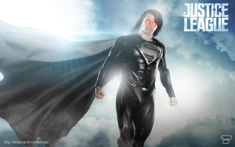 justice league superman black suit by bryanzap on deviantart