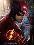 The Flash Ezra Miller Poster