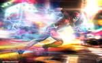 Ezra Miller Flash Running V3