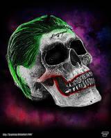 Joker Skull by Bryanzap