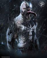 Tom Hardy Bane / Venom by Bryanzap