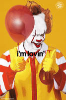 Pennywise i'm loving IT by Bryanzap