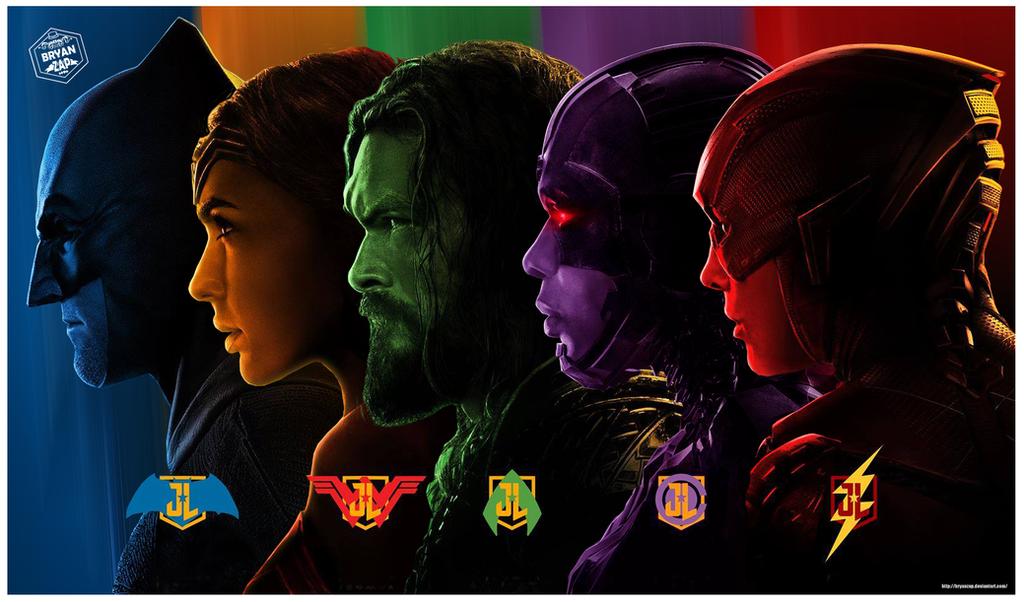 Justice League Wallpaper Art By Bryanzap