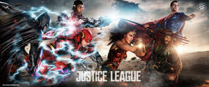 Justice League All In Art