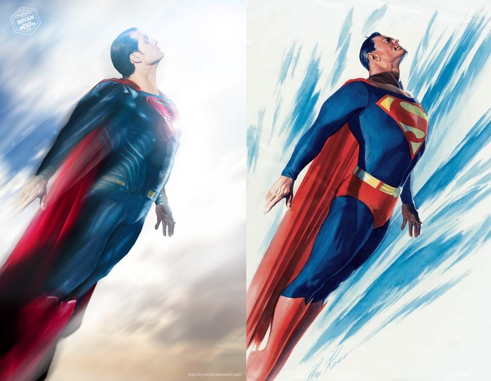 superman alex ross by bryanzap on deviantart