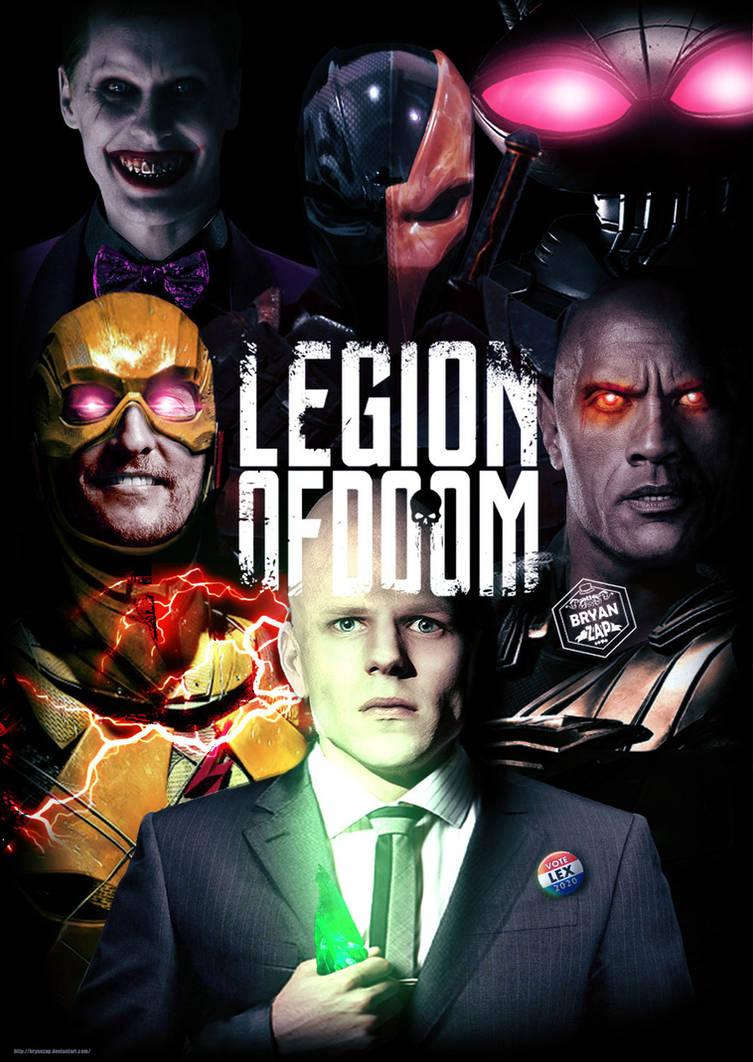Legion of Doom Poster by Bryanzap on DeviantArt