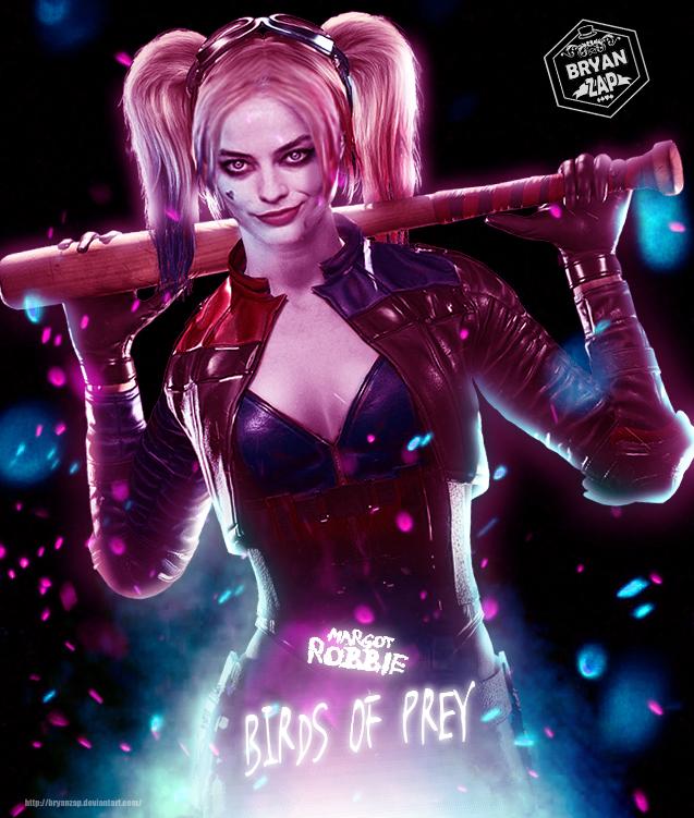 Margot Robbie Harley Quinn Birds Of Prey By Bryanzap On Deviantart