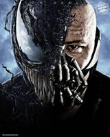 Tom Hardy Venom - Bane by Bryanzap