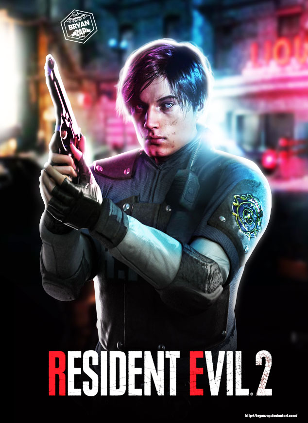 Resident Evil 2 Remake Leon By Bryanzap On Deviantart