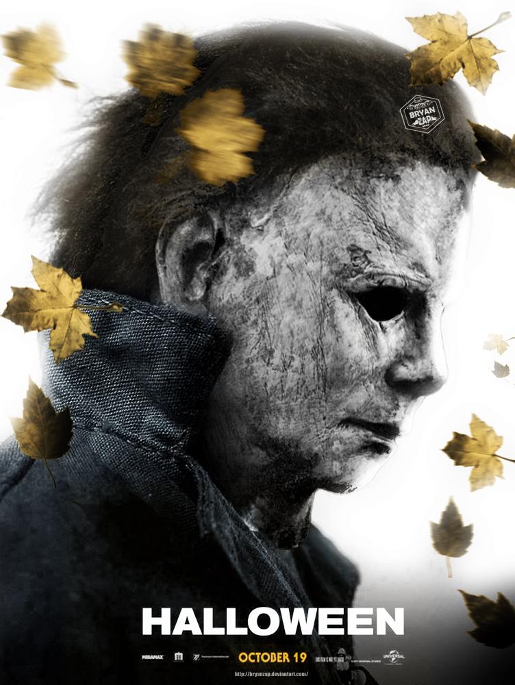 Halloween Movie Poster 2018.Halloween 2018 Poster By Bryanzap On Deviantart