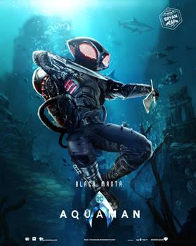 Aquaman - Black Manta Poster
