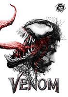 Venom Movie Poster by Bryanzap