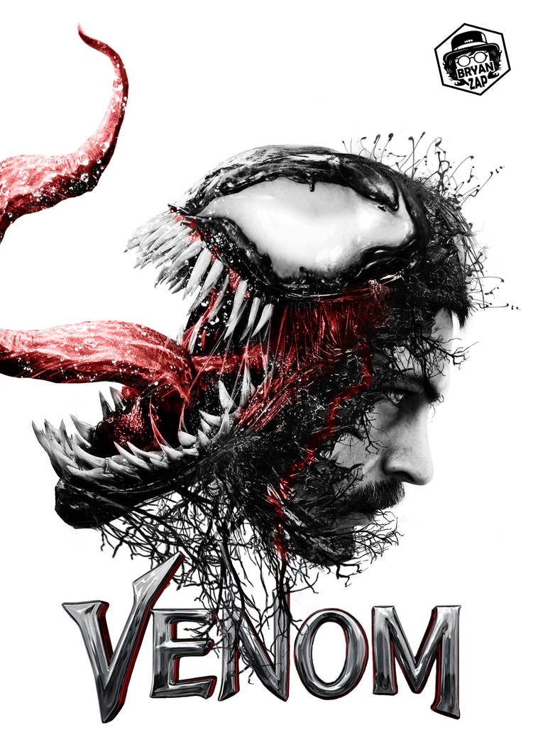 Venom Movie Poster by Bryanzap