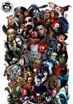 Horror Movies Icons Art