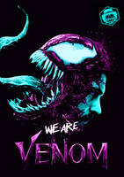 Venom Movie Art by Bryanzap