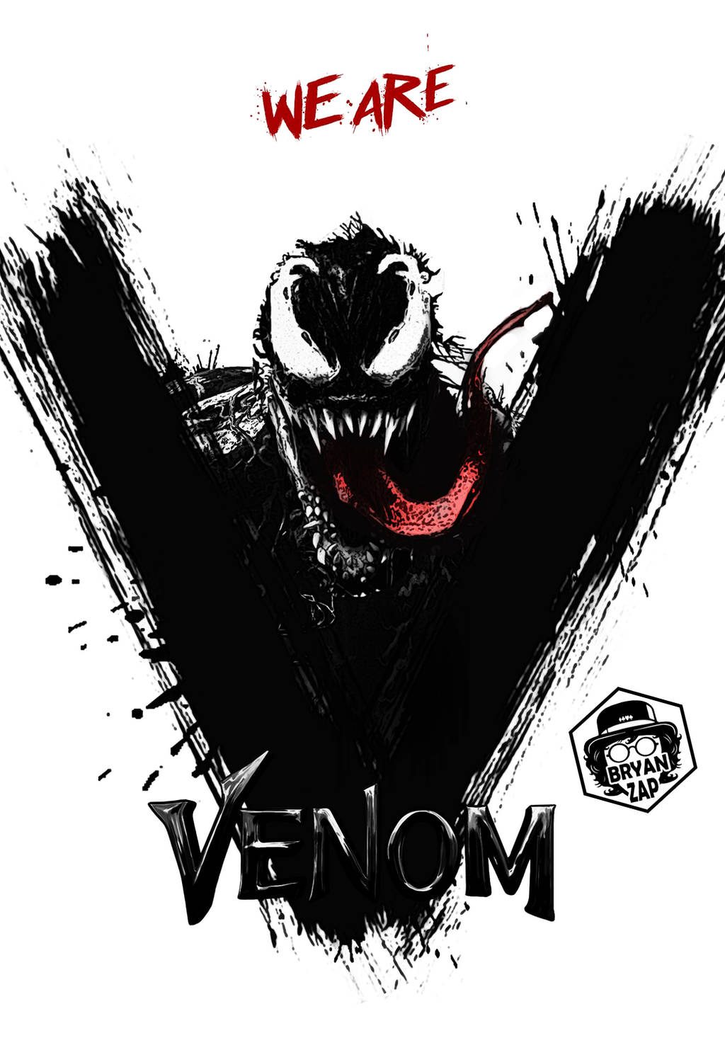 Venom Art by Bryanzap