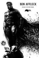 Ben Affleck Left The Batman by Bryanzap