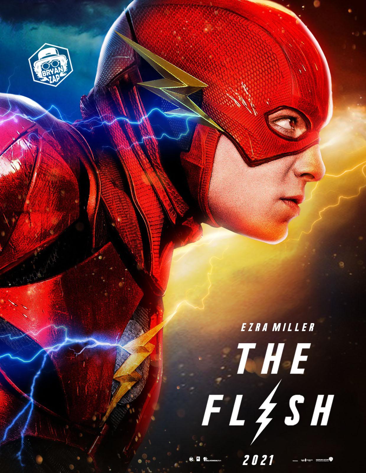 Ongebruikt The Flash Movie Poster by Bryanzap on DeviantArt XC-66