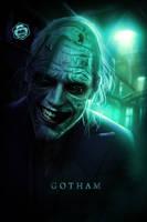Gotham Joker by Bryanzap