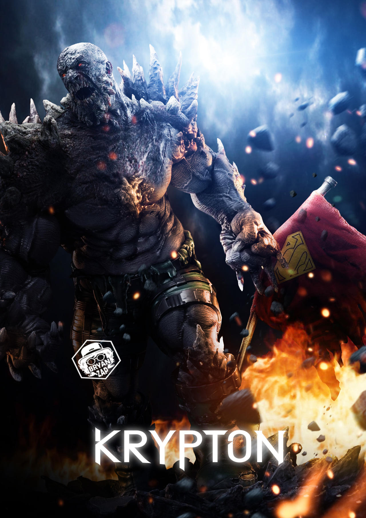 Doomsday Krypton Poster By Bryanzap On Deviantart