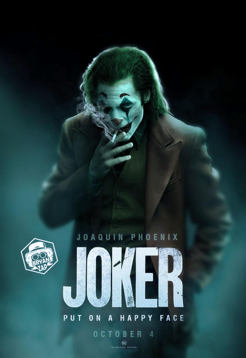 Joker Movie Poster By Bryanzap On Deviantart
