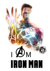 I Am Iron Man Poster by Bryanzap