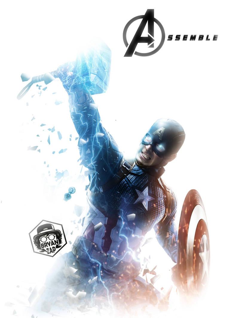 Captain America Worthy Poster By Bryanzap On Deviantart