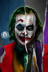 Joker Joaquin Phoenix / Heath Ledger