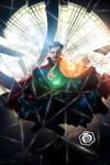 Doctor Strange Mirror Dimension Art