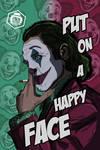 Joker Comic Style Art