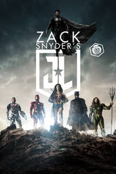 Snyder Cut Justice League Poster