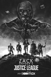 Zack Snyder's Justice League Darkseid Poster