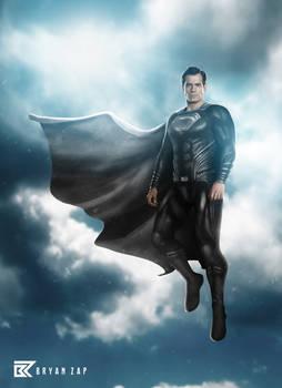 Superman Black Suit Snyder Cut