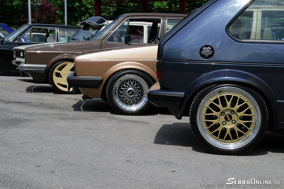 Mk1 Golf Wheels