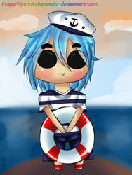 Sailor 2-D Chibi [Digital] by YumikoKuroNeko