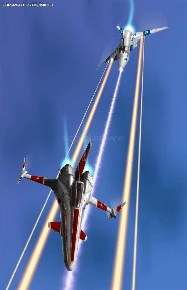 Stingray vs Corsair by Colourbrand
