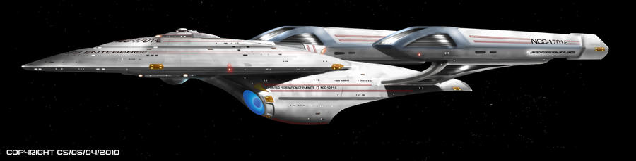 Enterprise-E by Colourbrand on DeviantArt