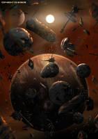 The Inner Sphere Graveyard by Colourbrand