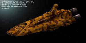 Commissioned: Starburst Class Medium Carrier