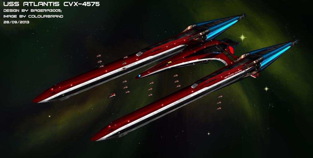 Art-trade: The Atlantis CVX-4575 by Colourbrand