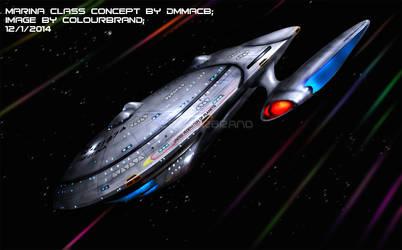 Commissioned: USS Elina