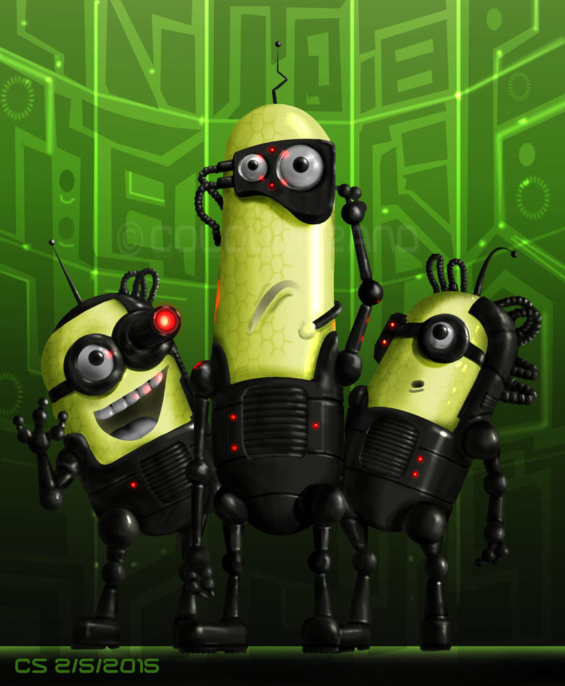 Minions of the Borg by Colourbrand