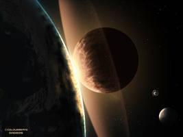 Interstellar Collision